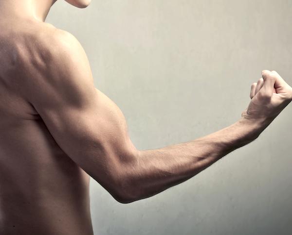 筋肉が硬いやつ