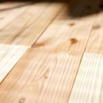 無垢材の床が心地いい!ユカハリタイルという床張りリフォーム
