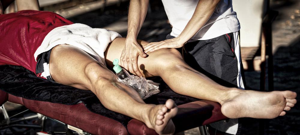 sports aroma massage