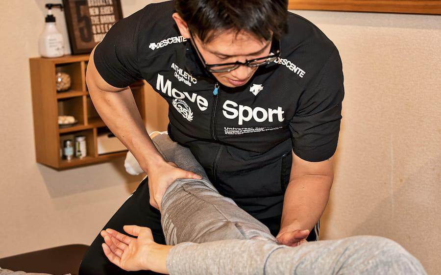 整体筋肉活性化施術